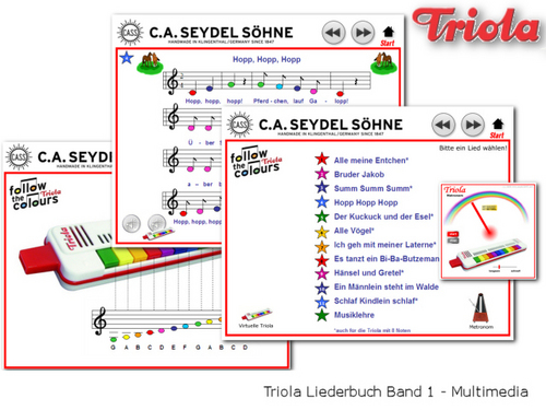 Product picture Triola-Songbook-Vol1(german_only)-download